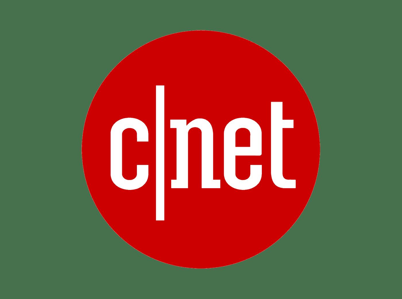Cnet logo Pentagram