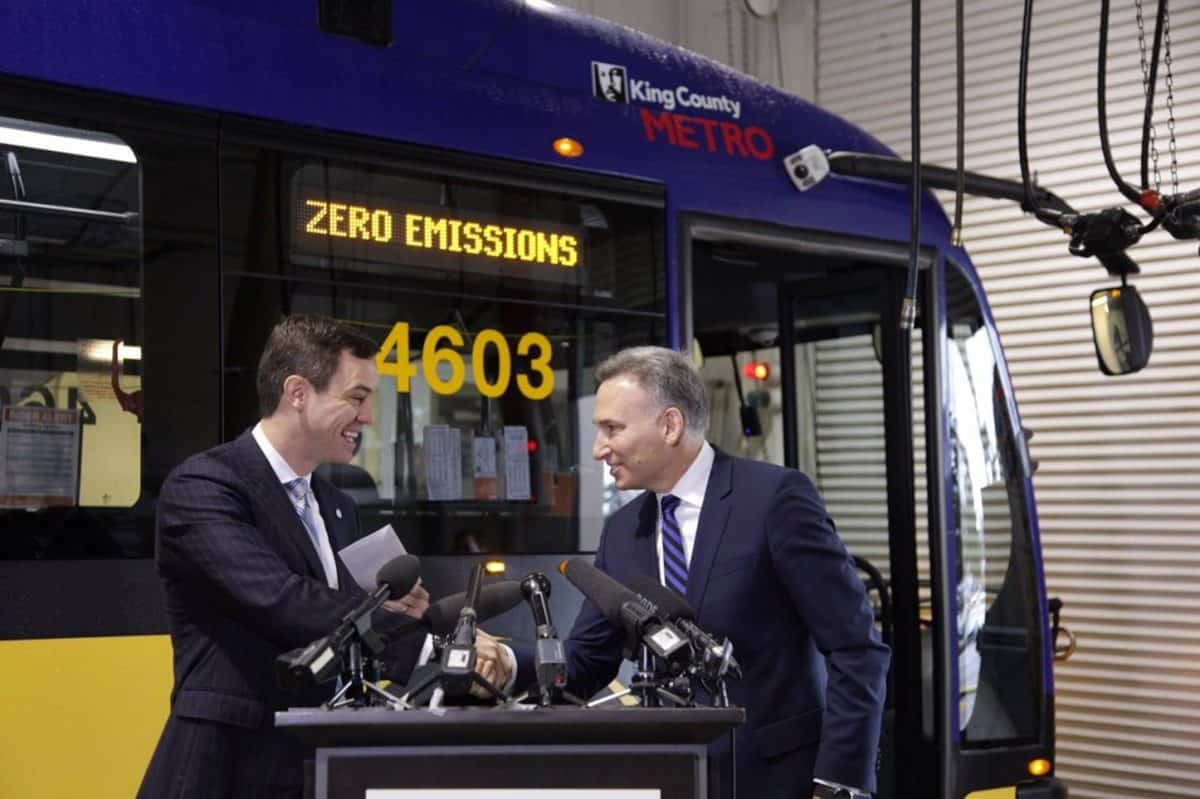 largest electric bus order in north america