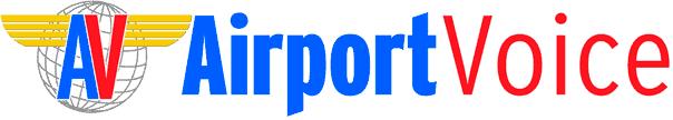 airport voice logo
