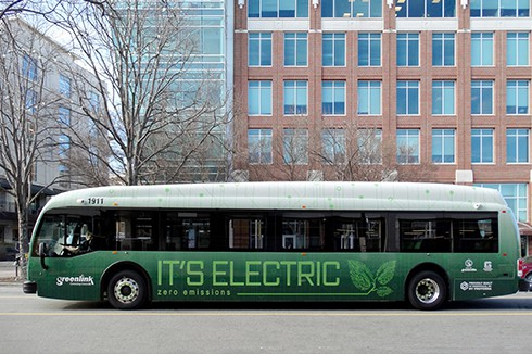 South Carolina Celebrates The Deployment Of Greenlink Electric Buses With The Proterra Greenville Team