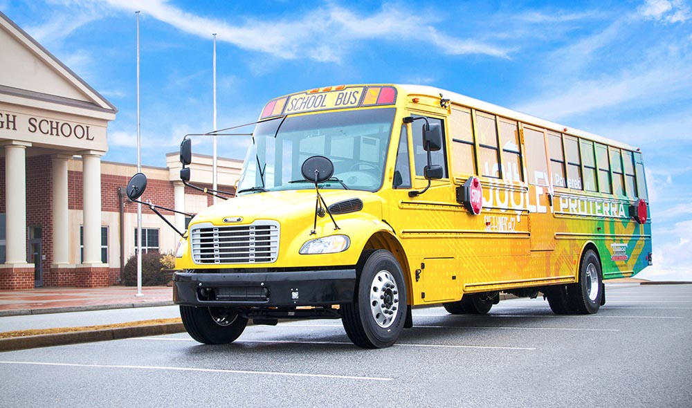 cover PROTERRA POWERED SCHOOL BUS 2