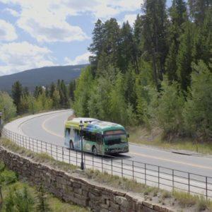 Breckenridge Colorado Proterra Electric Bus