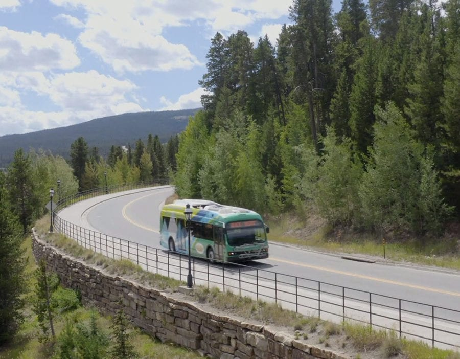 Breckenridge Colorado Proterra Electric Bus