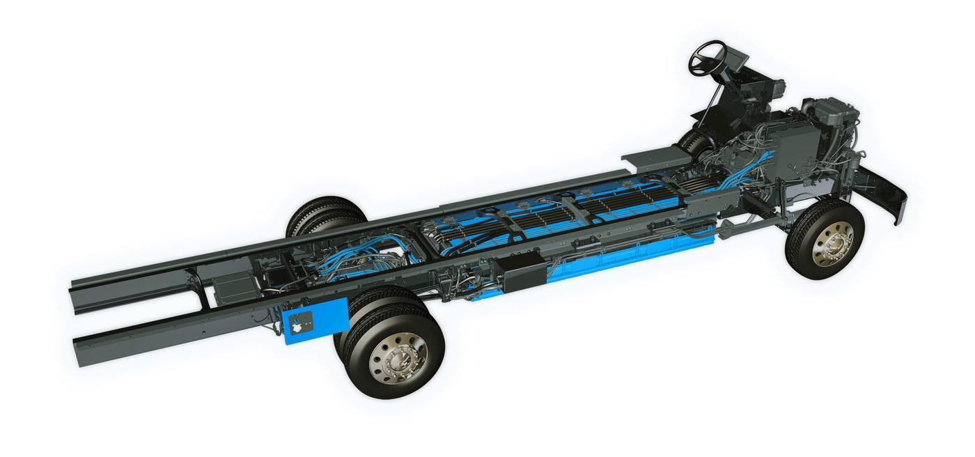 Mt50E Chassis With Proterra Battery System Scaled