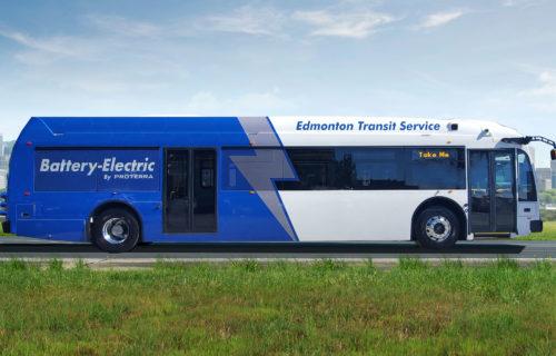 Edmonton Proterra Battery Electric Bus