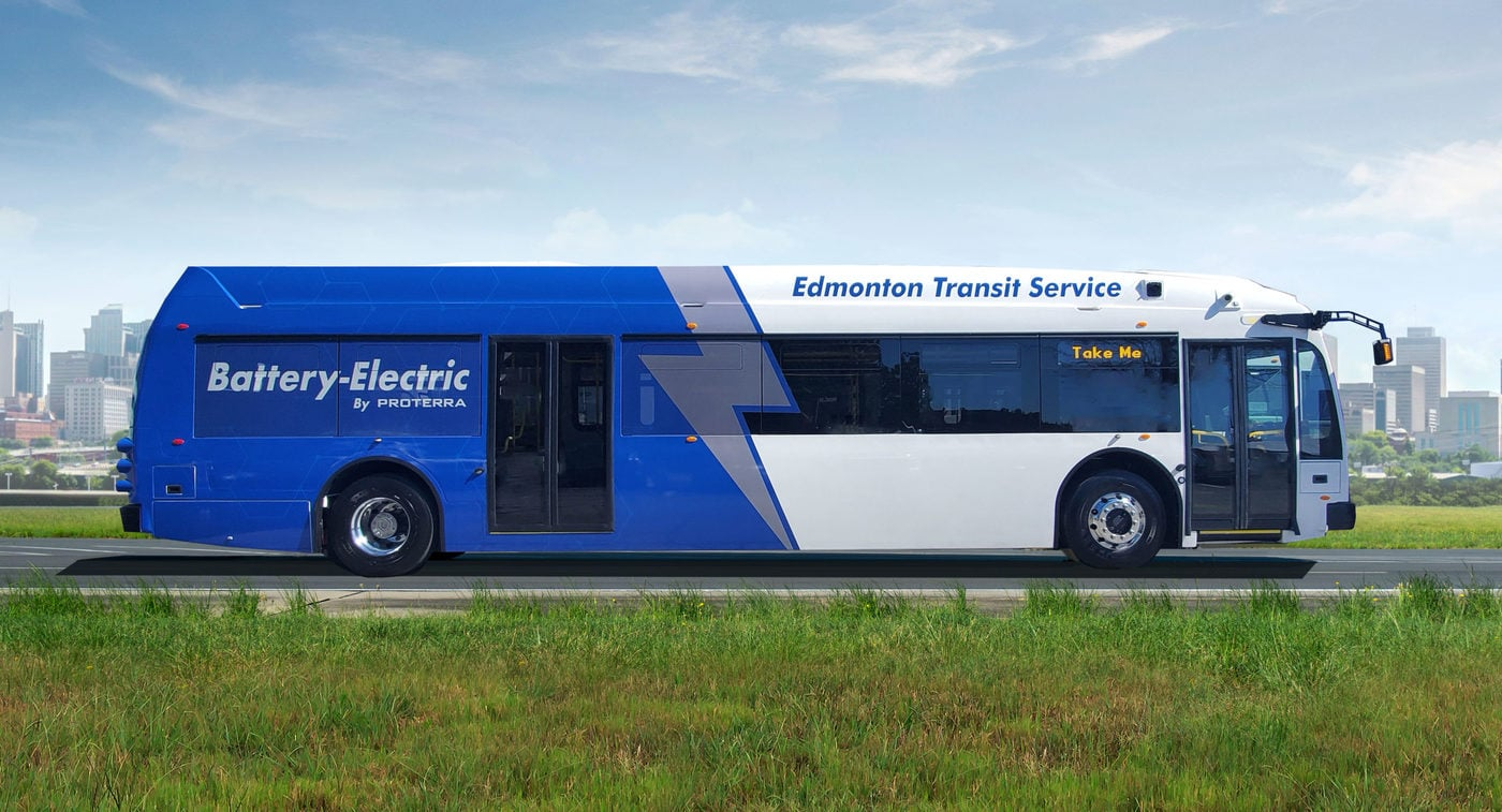 Edmonton Proterra Battery Electric Bus Scaled