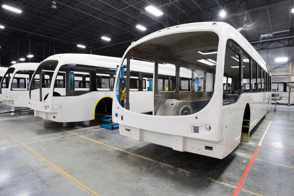 Composite Bus Body
