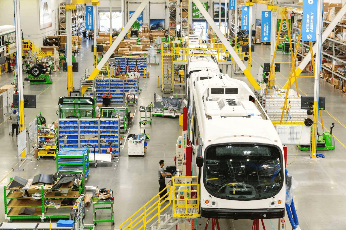Manufacturing Floor In Los Angeles