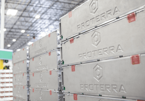 Proterra Powered Battery Stack