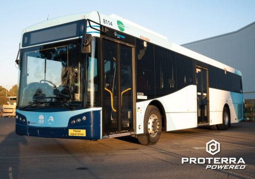 Proterra Powered Bustech Transit Bus Scaled
