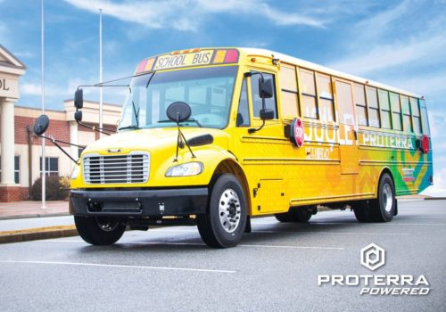 Proterra Powered Thomas Built Buses School Bus Scaled
