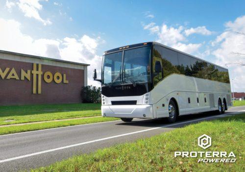 Proterra Powered Van Hool Coach Bus Scaled