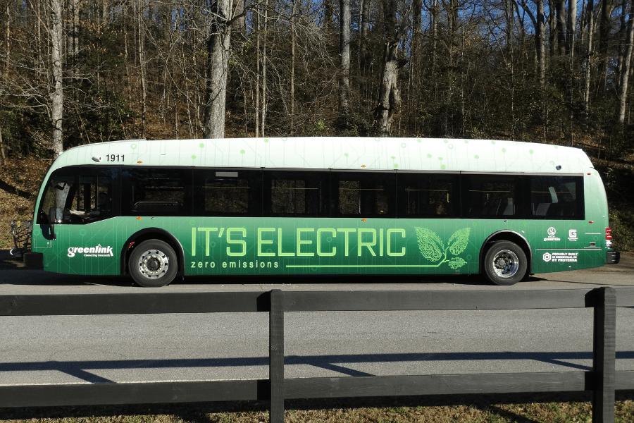 Greenlink Bus Deployment 1