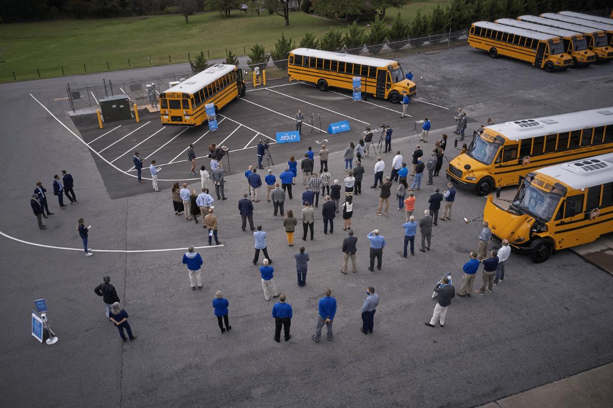 Thomas Built School Bus Deployment In Virginia Oct 2020