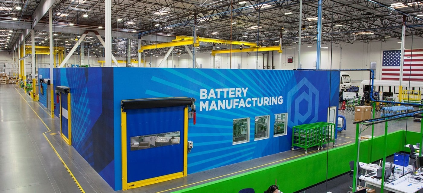 Proterra Battery Manufacturing Facility Los Angeles 1