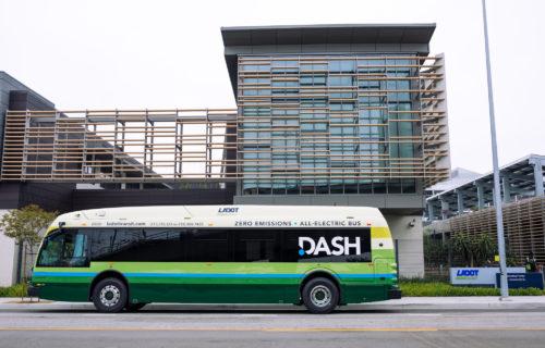 Ladot Transit Bus July 2020