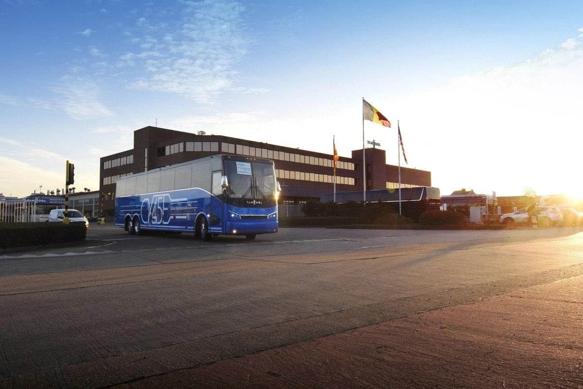 Van Hool Cx45E Coach Bus 2