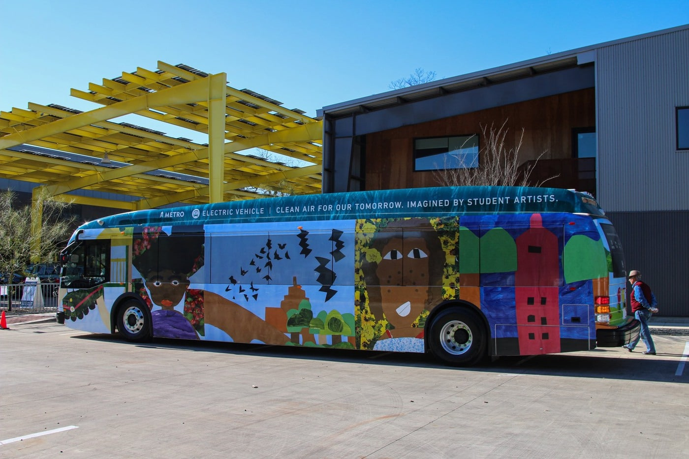 Capital Metro Bus Jan 2020