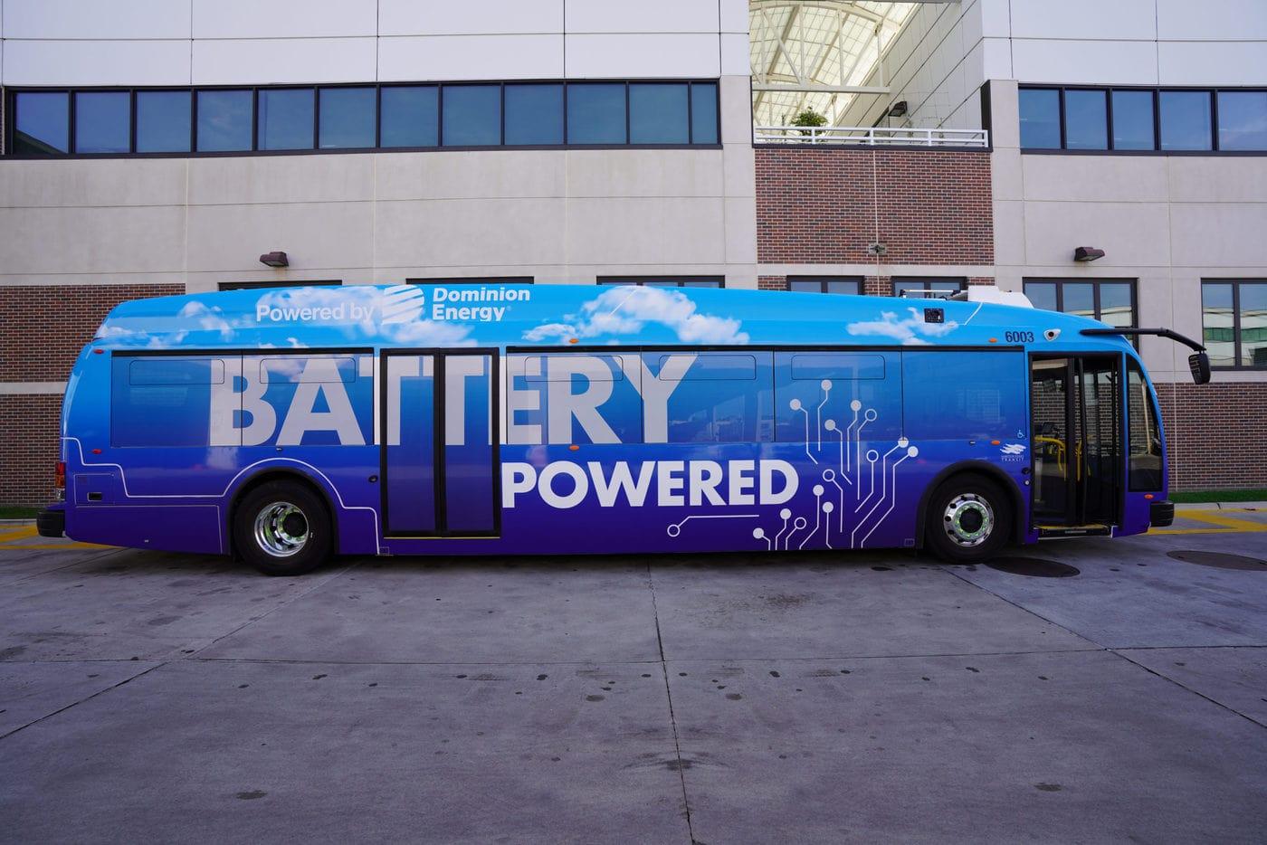 Hampton Roads Transit Bus Scaled