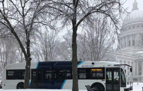 City Of Madison Metro Transit Bus