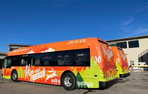 Colorado Boulder Proterra Bus
