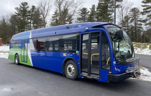 Green Mountain Transit Electric Bus 1