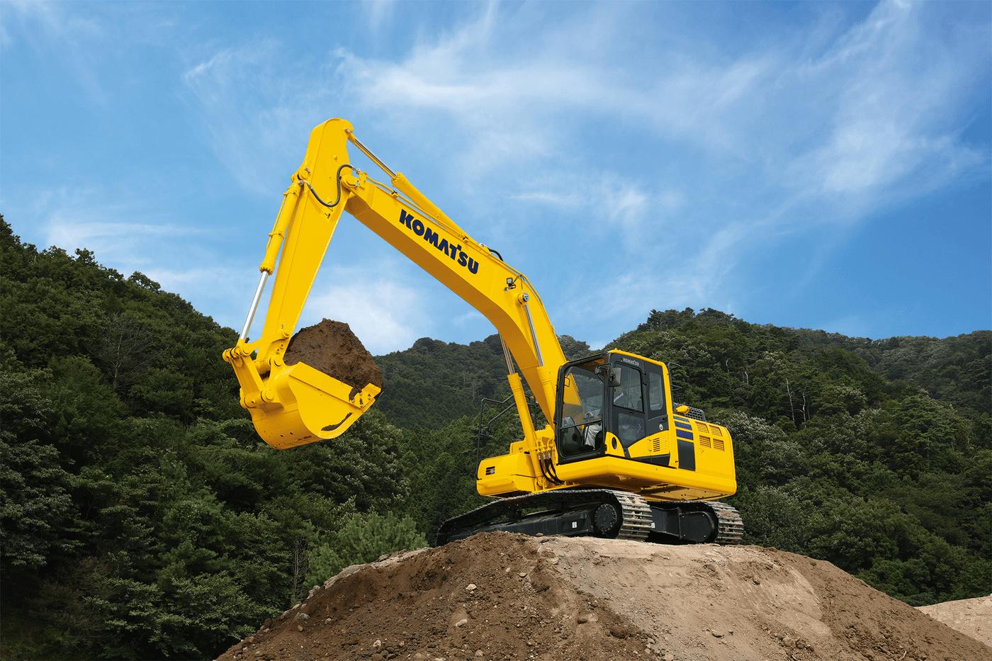 Komatsu Electric Excavator 2 Retouched
