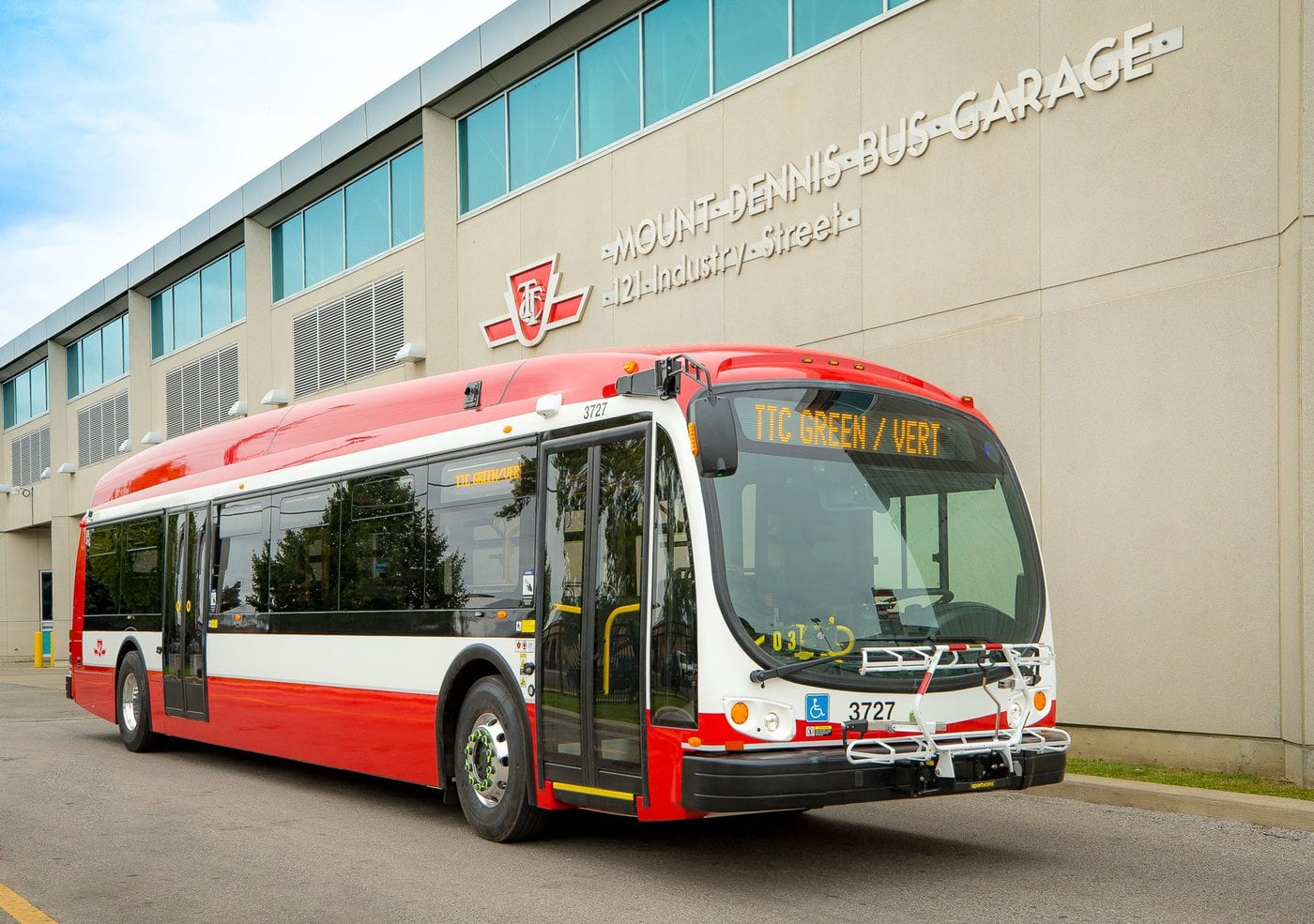 Toronto Transit Commission Bus Twitter Nov 2019