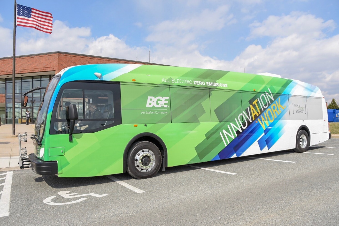 Baltimore Gas And Electric Proterra Electric Bus 1