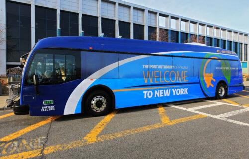 Port Authority Proterra Bus 1