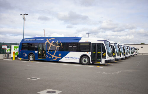 San Jose International Airport Bus Fleet