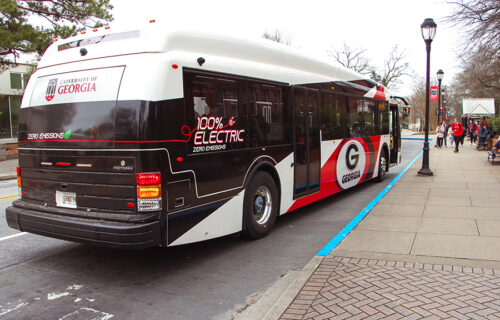 University Of Georgia Proterra Electric Buses Electric Buses Webpage Aug 2021