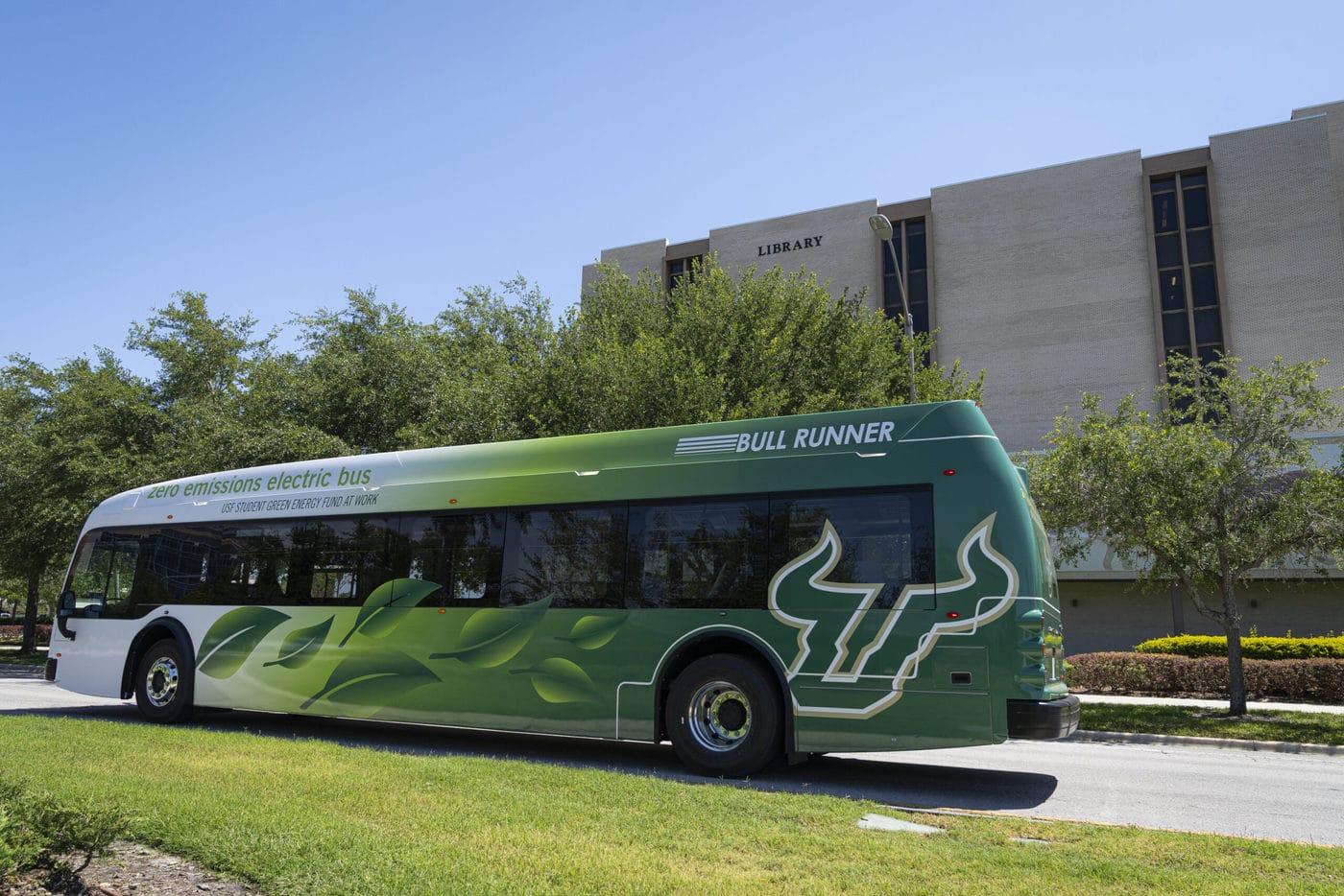 University Of South Florida Transit Bus 5 2021 Scaled