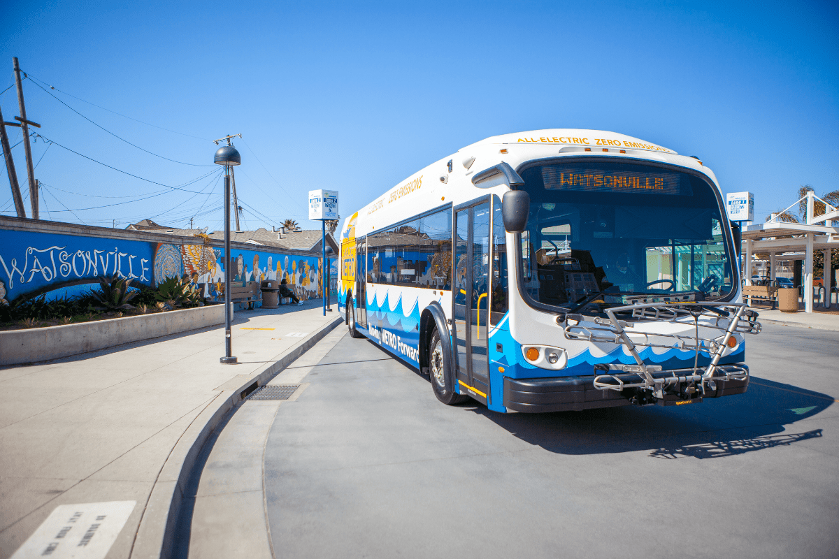 Santa Cruz Metro Proterra Electric Bus May 2021