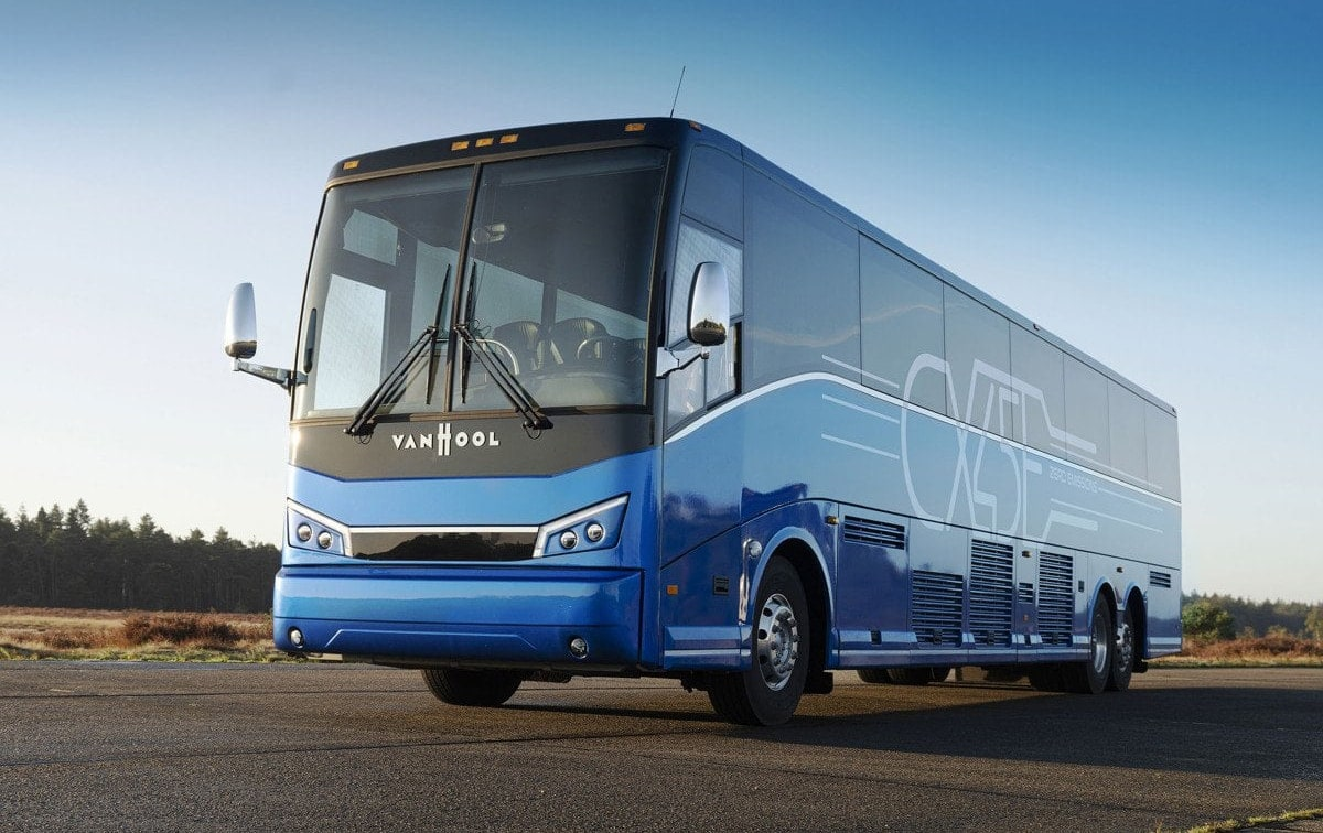 Proterra Powered Van Hool Cx45E Electric Coach 7