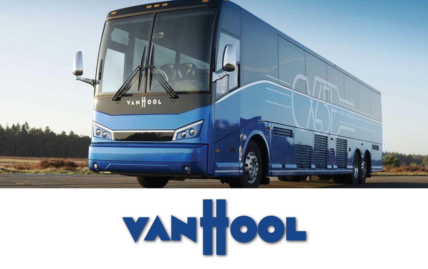 Van Hool Bus With Logo Scaled