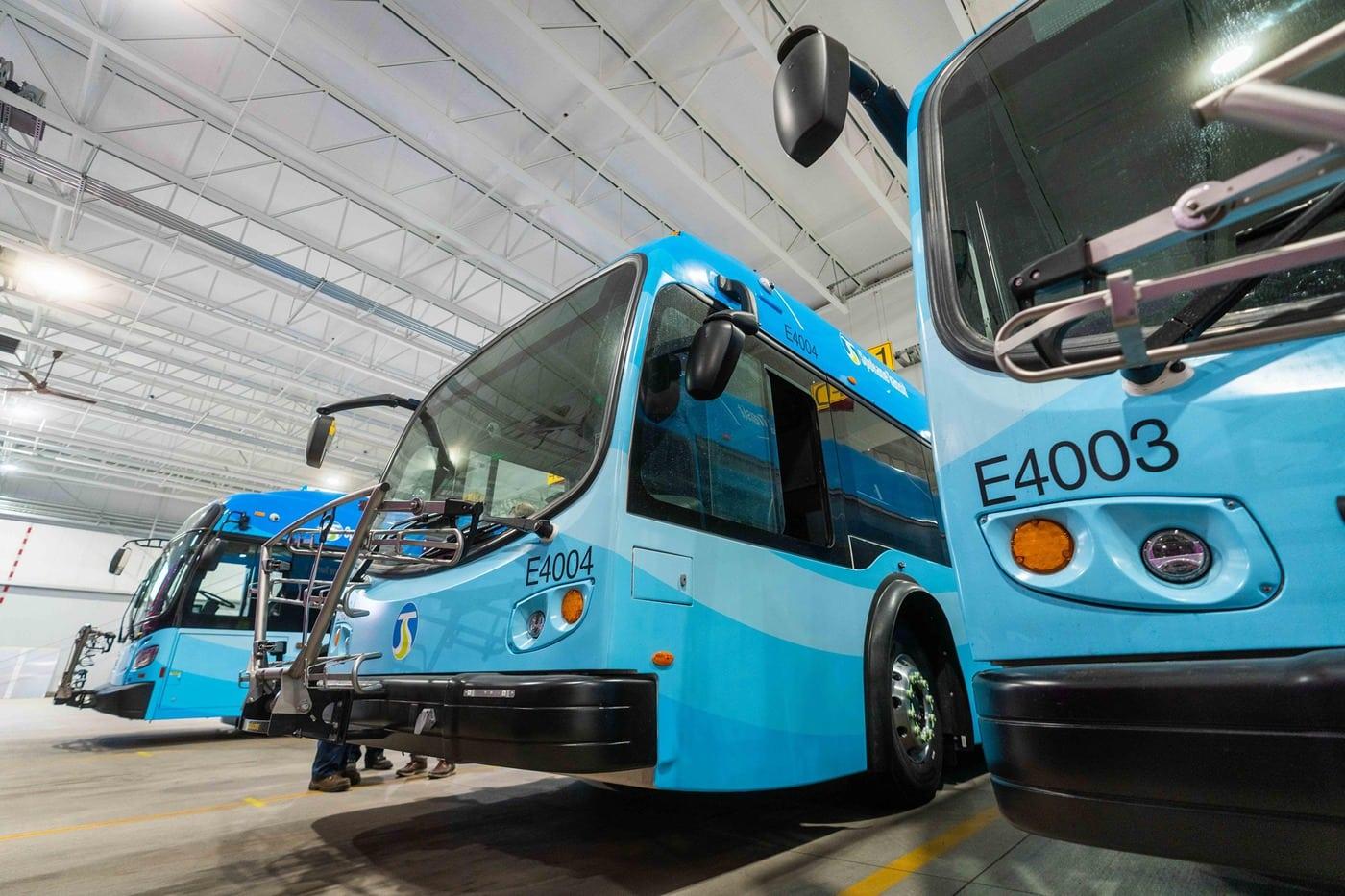 Spokane Transit Electric Bus Sept 2021 1
