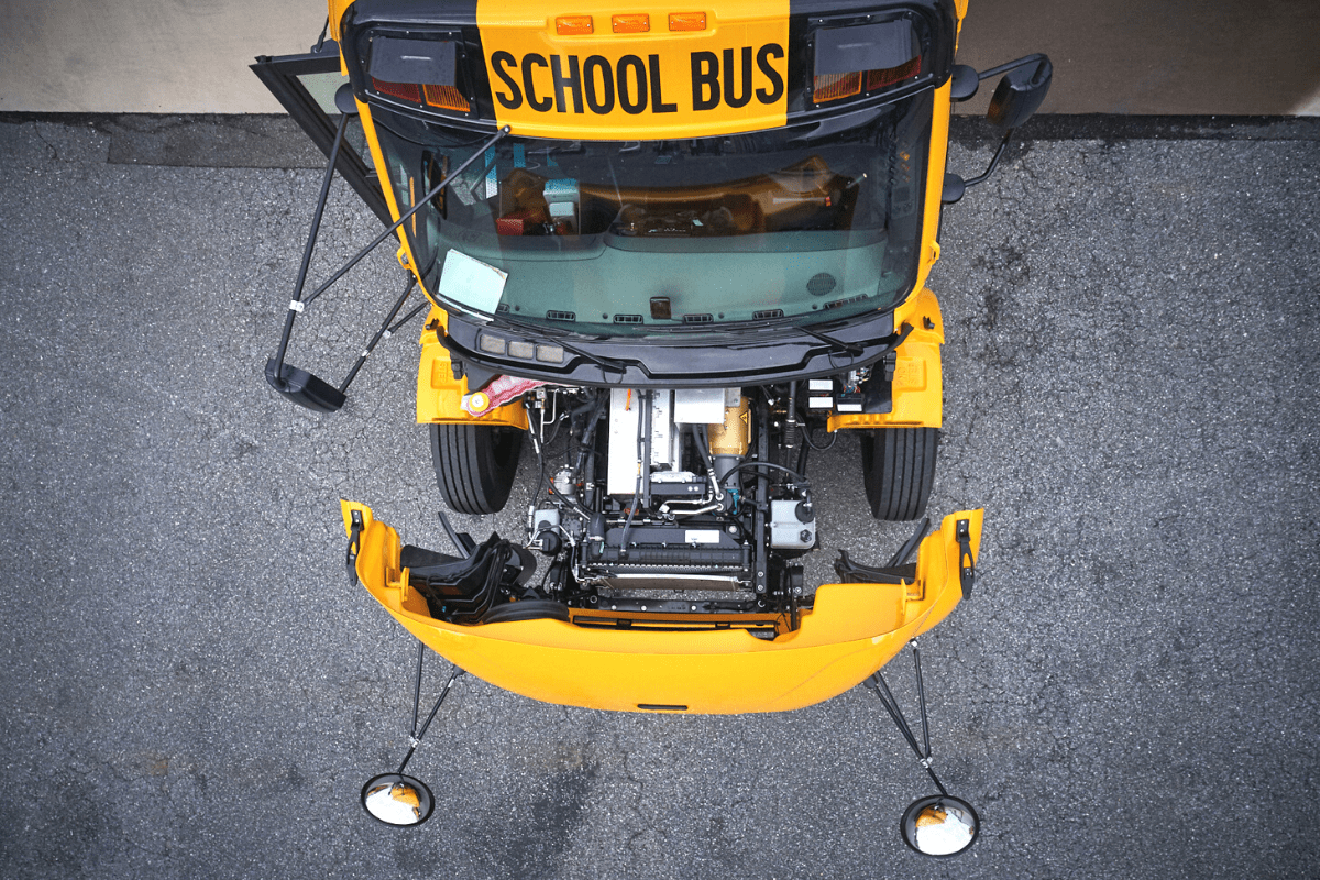 Thomas Built Buses Electric School Bus Under The Hood 1200X800 1